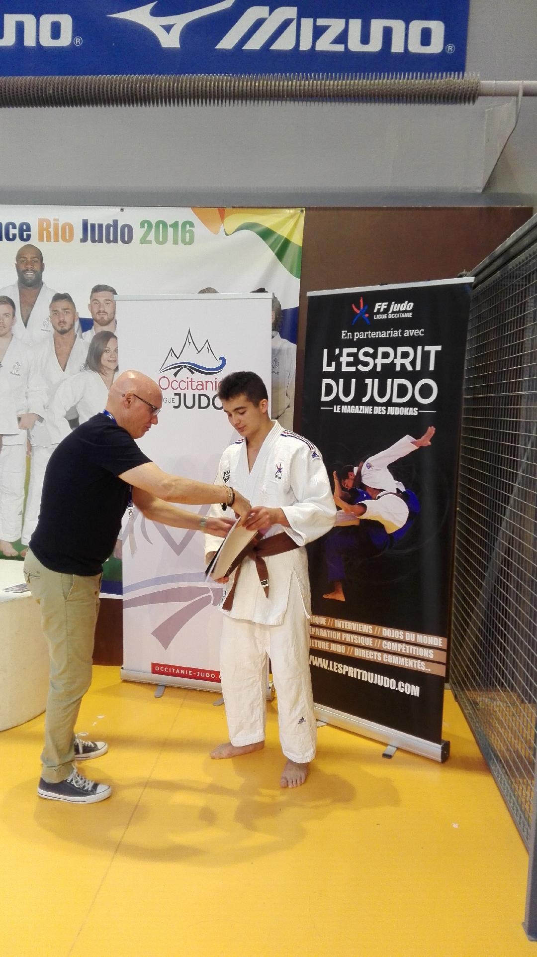 Calendrier Judo Occitanie.Hugo Winter Ceinture Noire De Judo Montpellier