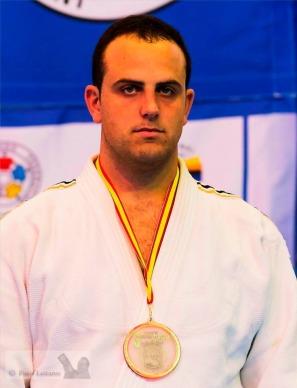 David, 3 ème aux championnats du monde vétérans, + 100kg